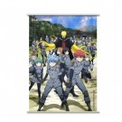 Assassination Classroom Wallscroll - Koro with Students in Uniforms