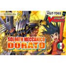 Cardfight!! Vanguard - Trial Deck 03: Soldato Meccanico Dorato - IT VGIT-TD03
