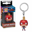 Funko POP! Keychains Captain Marvel - Captain Marvel (with Helmet) Vinyl Figure 4cm FK36439