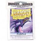 Dragon Shield Small Sleeves - Purple (50 Sleeves) 10109
