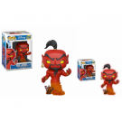 Funko POP! Disney Aladdin - Jafar (Red) Vinyl Figure 10cm Assortment (5+1 chase figure) FK24403case
