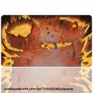 Blackfire Playmat - Battleground Edition Mountain - Ultrafine 2mm BF08902