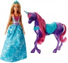 Barbie - Dreamtopia Magic Touch Unicorn and Doll /Toys