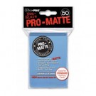 UP - Standard Sleeves - Pro-Matte - Non Glare - Light Blue (50 Sleeves) 84188