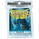 Dragon Shield Small Sleeves - Black (50 Sleeves) 10102