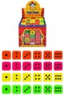 FUN TOYS - ASST COLOURED DICE T65124