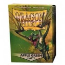 Dragon Shield Standard Sleeves - Matte Apple Green (100 Sleeves) 11018