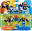 (D) Skylanders Swapforce: Double Pack (Nitro Magna Charge, Free Ranger) (DAMAGED) /Toys