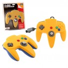 TTX N64 Classic Controller Yell/Blue - pults