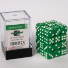 Blackfire Dice Cube - 12mm D6 36 Dice Set - Opaque Green 91684