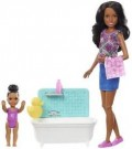 Barbie - Babysitters Playsets Bathtime /Toys