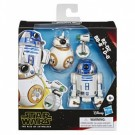Star Wars Galaxy of Adventures R2-D2, BB-8, D-O Actionfigures 3-Pack 13cm E3118EU4