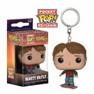 Funko Pocket POP! Keychain - Back To The Future II Marty McFly on Hoverboard Vinyl Figure 4cm limited FK10661