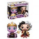 Funko POP! Disney Villains - Ursula with Cruela De Vil Vinyl Figure 10cm limited FK10870