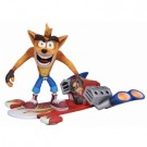 Crash Bandicoot - Action Figure - Deluxe Hoverboard Crash 18cm NECA41051