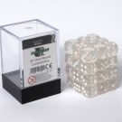 Blackfire Dice Cube - 12mm D6 36 Dice Set - Transparent White 91709