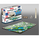 4D Cityscape - Washington DC, USA Puzzle 40018