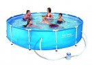 Bestway - Steel Pro Frame Pool 366x76cm with pump (6473L)