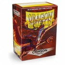 Dragon Shield Standard Sleeves - Matte Crimson (100 Sleeves) 11021