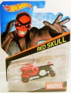 Hot Wheels Marvel Character Cars - Red Skull