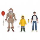 Funko Action Figures It 2017 - Pennywise, Bill, Georgie Poseable Figures 3-Pack FK30006