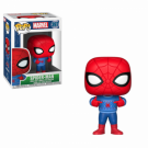 Funko POP! Holiday - Spider-Man w/ Ugly Sweater Vinyl Figure 10cm FK33983