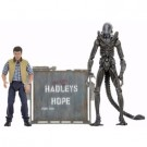 Aliens 30th Anniversary - Hadley's Hope - Concept Xenomorph Warrior and Carter Burke 2-Pack Action Figure 18-23cm NECA51671