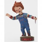 Chucky Head Knocker - Chucky with Knife 18cm NECA04711