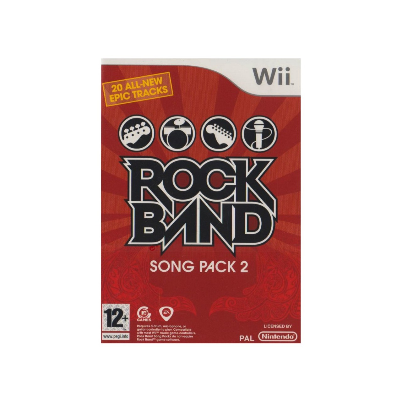 Rock Band Song Pack 2 Wii