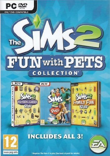 The Sims 2 Fun With Pets Collection PC ENG DVD