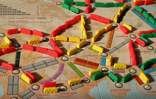 Ticket To Ride Asia Map.Board Game Ticket To Ride Map Collection Volume 1 Asia