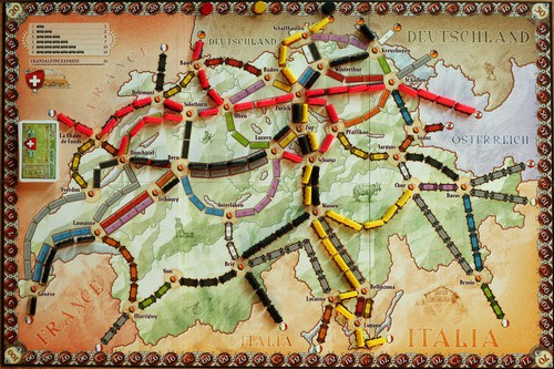 Ticket To Ride India Map.Board Game Ticket To Ride Map Collection Volume 2 India