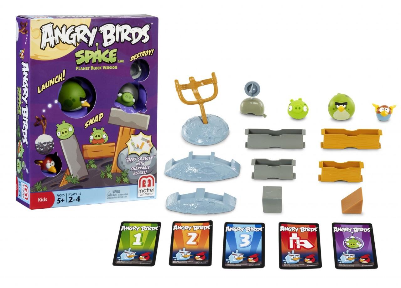 Galda spēle Angry Birds Space