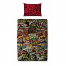 Disney - Marvel Comics - Single Rotary Duvet Set - Homeware