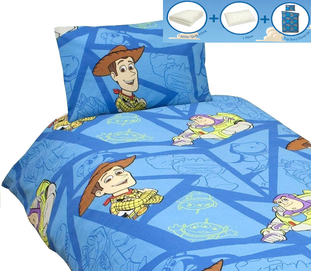 Toy Story Fractal Junior Rotary Bedding Bundle Homeware