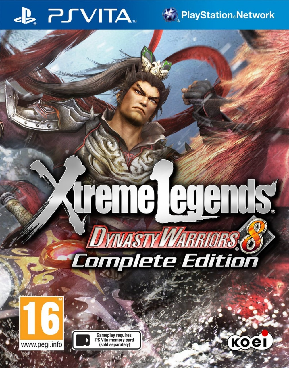 Dynasty Warriors 8: Xtreme Legends - Complete Edition PSVita  36.89