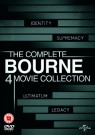 Bourne (4 Films) Movie Collection DVD 8291396