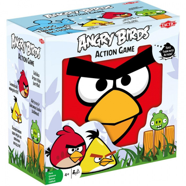 Galda spēle ANGRY BIRDS ACTION GAME