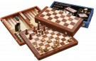 Galda spēle Philos Chess-Backgammon-Checkers-Set 2520 šahs nardi dambrete