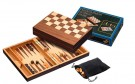 Galda spēle Philos Chess-Backgammon-Checkers-Set, field 32 mm, magnetic lock 2508 šahs nardi dambrete
