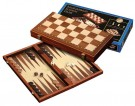 Galda spēle Philos Chess-Backgammon-Checkers-Set, magnetic lock 2524 šahs nardi dambrete