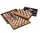 Galda spēle Philos Chess-Backgammon-Checkers-Set, magnetic lock 2525 šahs nardi dambrete