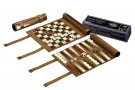 Galda spēle Philos Chess-Backgammon-Checkers-Travel-Set 2801 šahs nardi dambrete