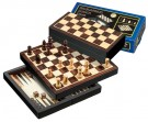 Galda spēle Philos Chess-Backgammon-Checkers-Travel-set, magnetic lock 2507 šahs nardi dambrete