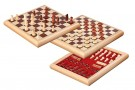 Galda spēle Philos Chess-Checkers-Set, wooden box 2803 šahs dambrete
