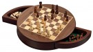 Galda spēle Philos Chess Set, rounded, field 25mm, magnetic lock 2727 šahs