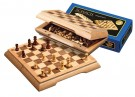 Galda spēle Philos Travel Chess Set, field 17 mm, magnetic lock 2716 šahs