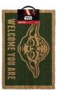 Star Wars Yoda (Welcome You Are) Doormat