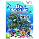 Go Vacation Nintendo Wii video game