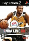 NBA Live 08 Playstation 2 (PS2) video game